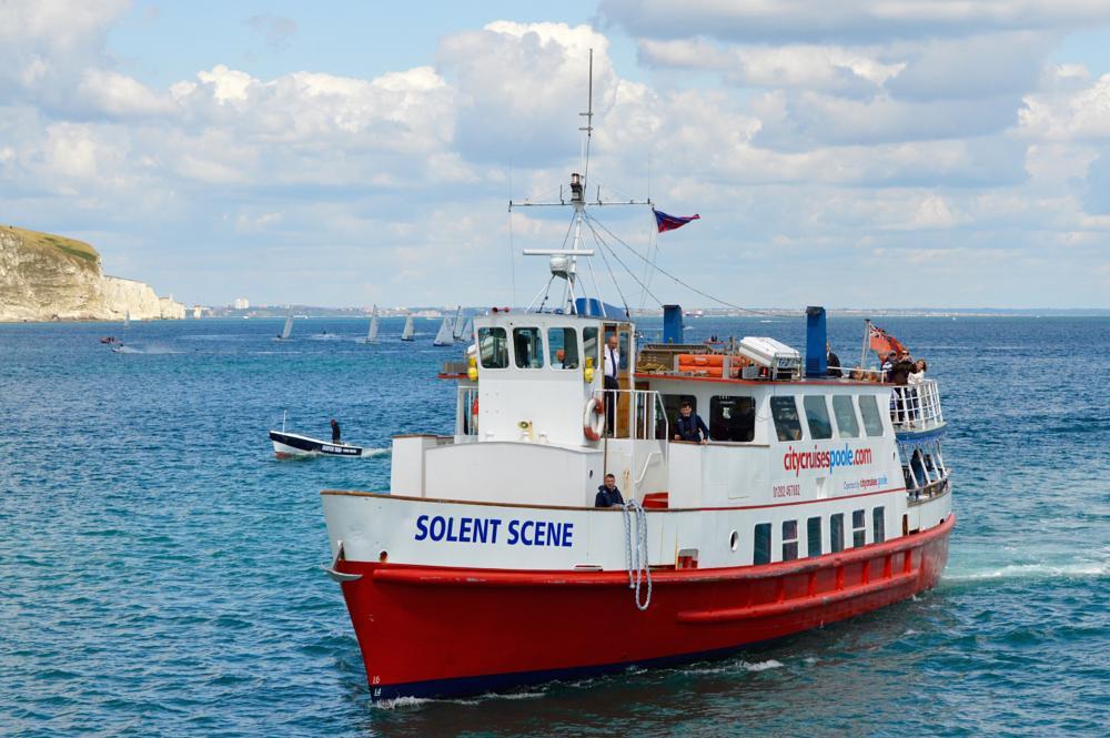 Photo in Landscape #solent scene #sea #bay #boats