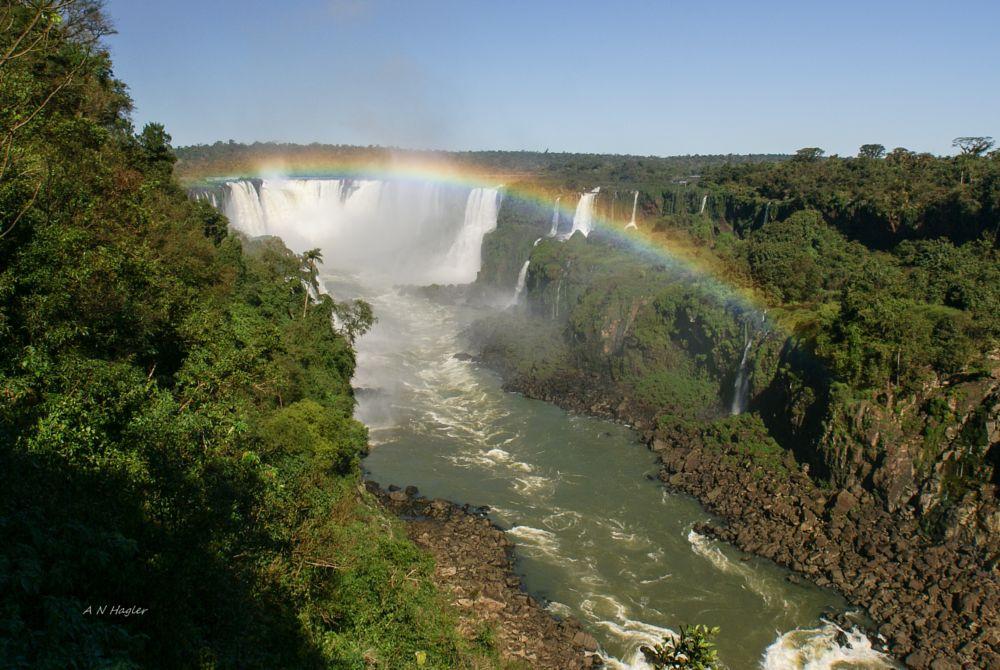 Photo in Landscape #igucu #foz #waterfall