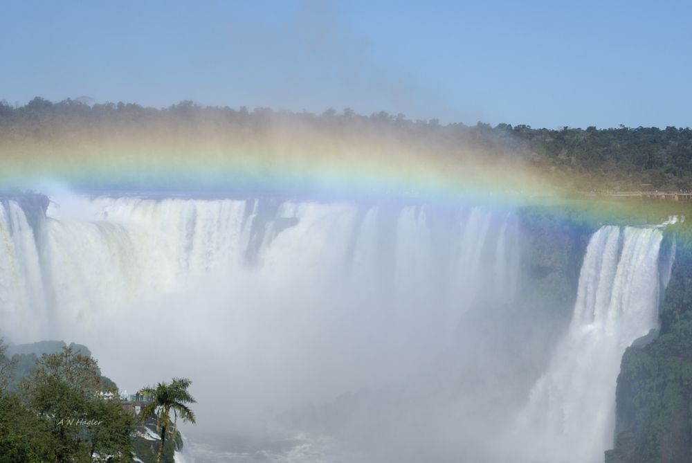 Photo in Landscape #waterfall #iguacu #foz