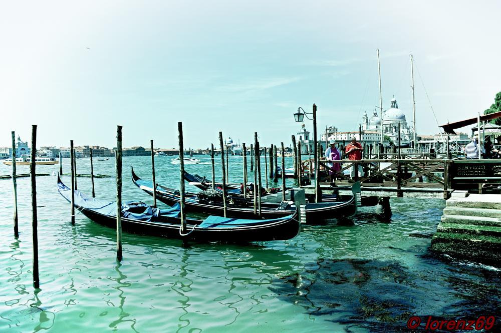 Photo in Landscape #gondole #a #venexia