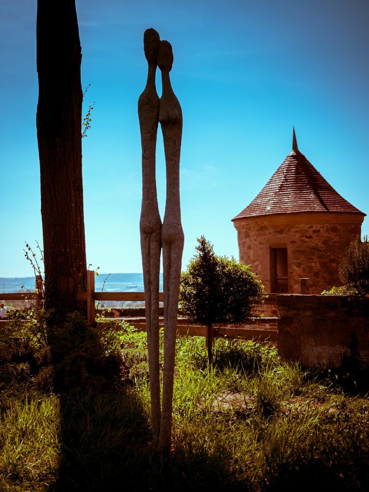 Photo in Travel #stettenfels #untergruppenbach #heilbronn #germany #sculpture #skulptur #tower #turm #burg #castle