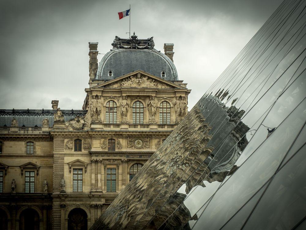 Photo in Architecture #france #paris #frankreich #musée du louvre #building #glass #pyramide du louvre