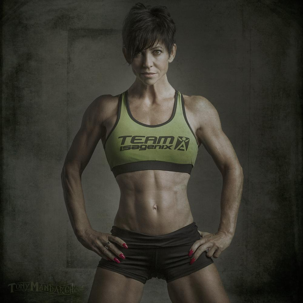 Photo in Sports #athlete #sitness #composite #female #woman #strong #fit #abs #sexy