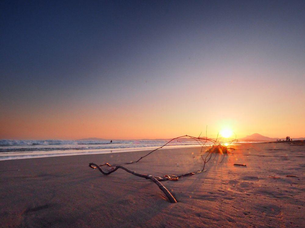 Photo in Nature #sea #waves #coast #beach #sunset