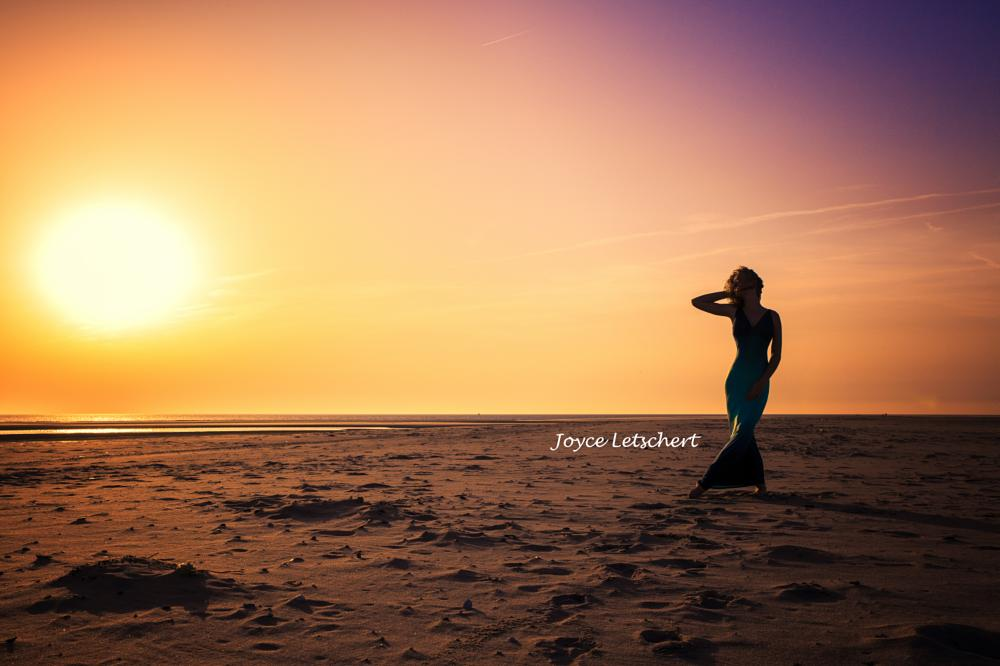 Photo in People #sea #beach #fashion #sunset