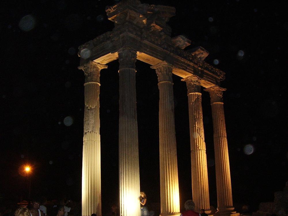 Photo in Architecture #roman ruins #temple #stone #columns #turkey