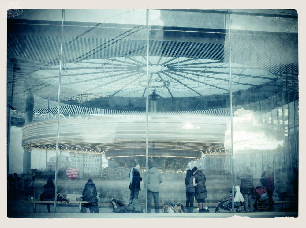 Photo in Family #jane's carousel #brooklyn bridge park #nd filter