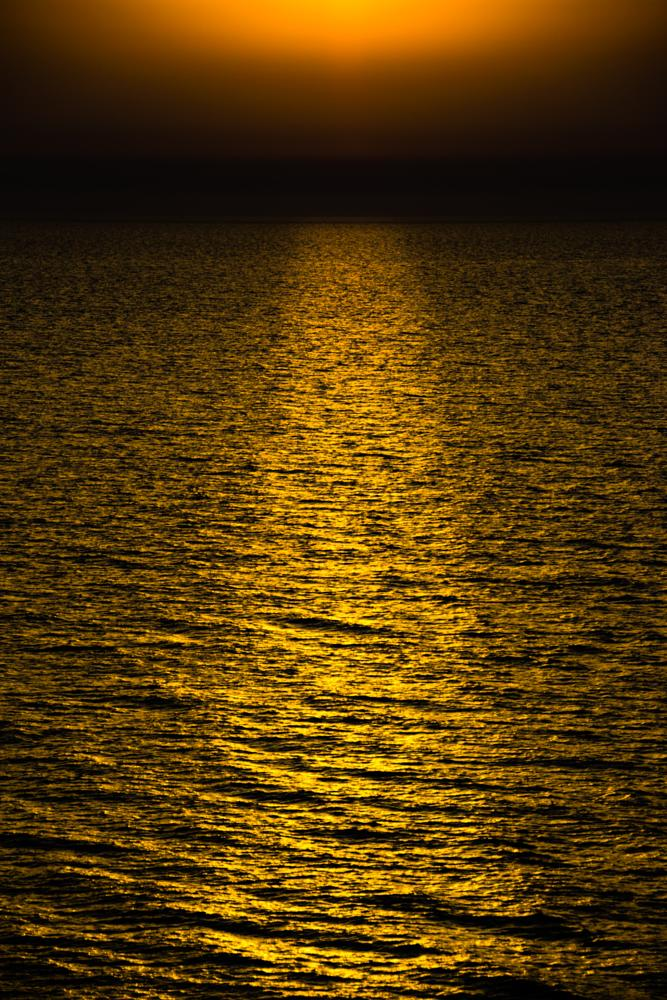 Photo in Nature #sea #sunset #passage #golden #colors