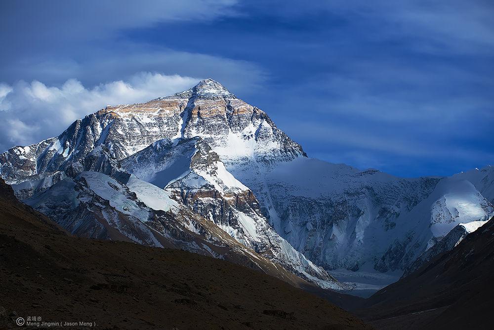 Photo in Landscape #everest mountain #everest #mountain #landscape #china #tibet #sky #blue