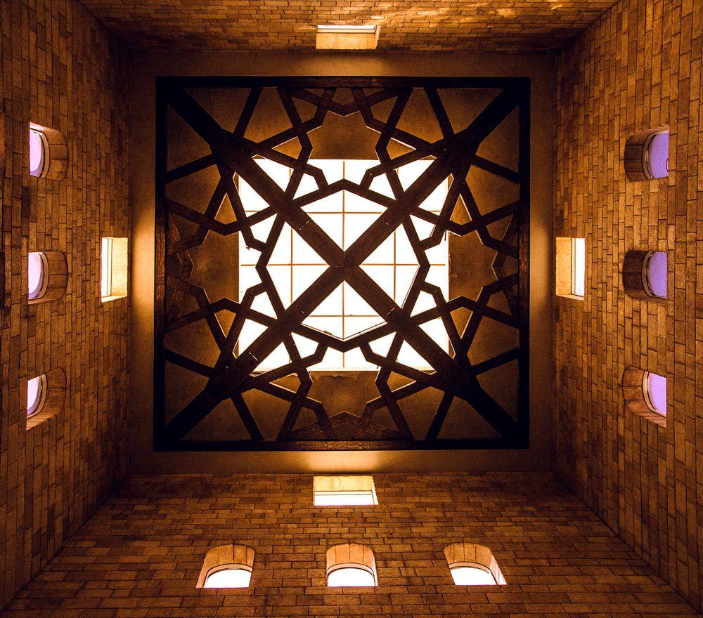 Photo in Architecture #ceiling #building #windows #architecture #dubai