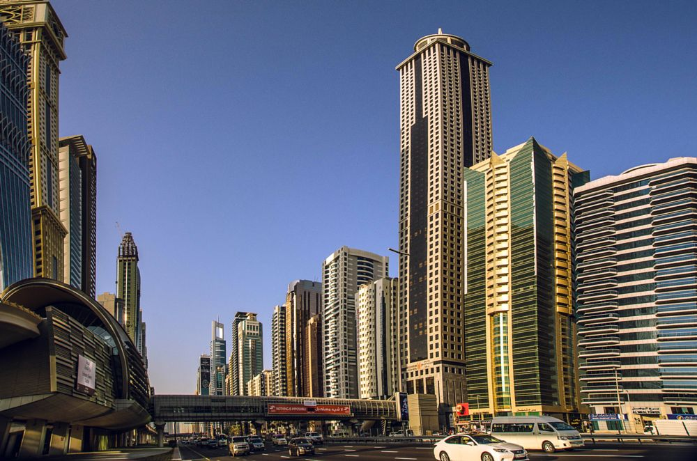Photo in Cityscape #highway #road #architecture #cityscape #buildings #dubai #uae #sheik zayed