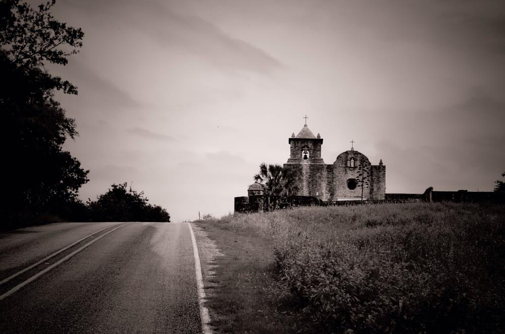 Photo in Black and White #rural #landscape #blackandwhite #history