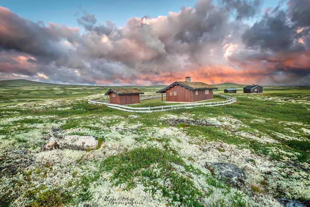 Photo in Landscape #norway #norvege #landscape #sky #storm #nature