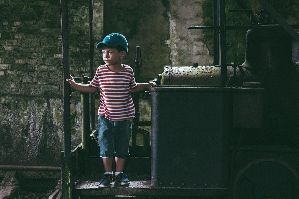 Photo in Portrait #portrait #portraits #boys #abandonedplaces