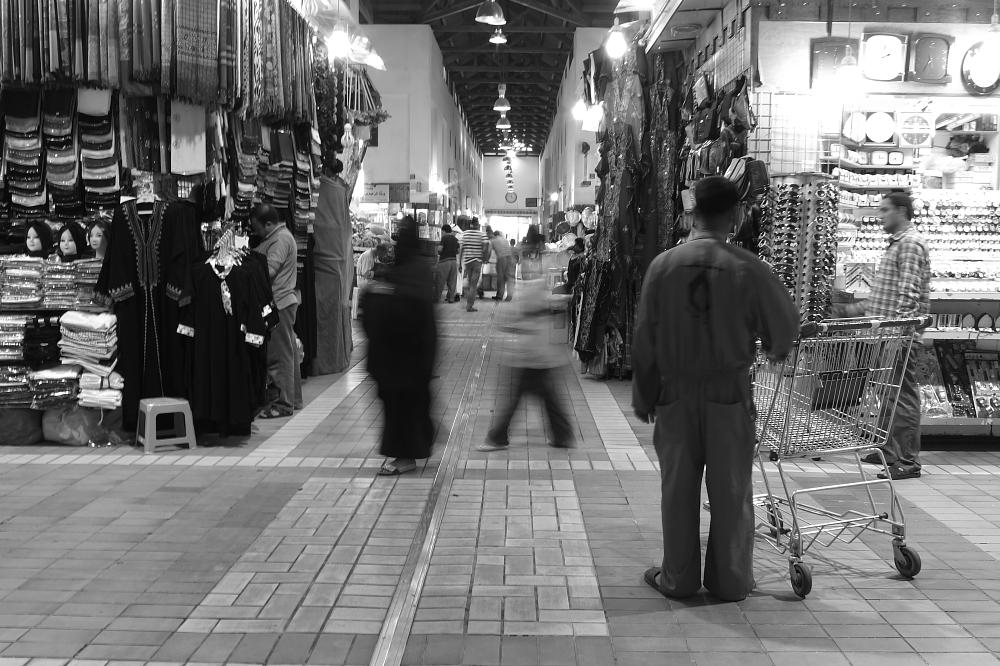 Photo in Black and White #almubarkeya #old_souq #old_city