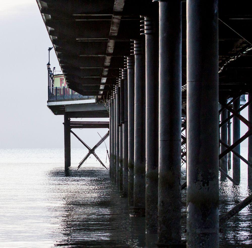 Photo in Architecture #boardwalk #pier #architecture