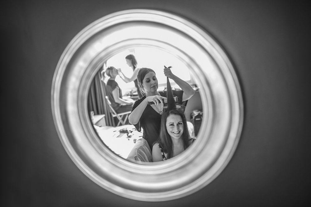 Photo in Wedding #bride's preparations #bride's preparations hotel du  #wedding preparations