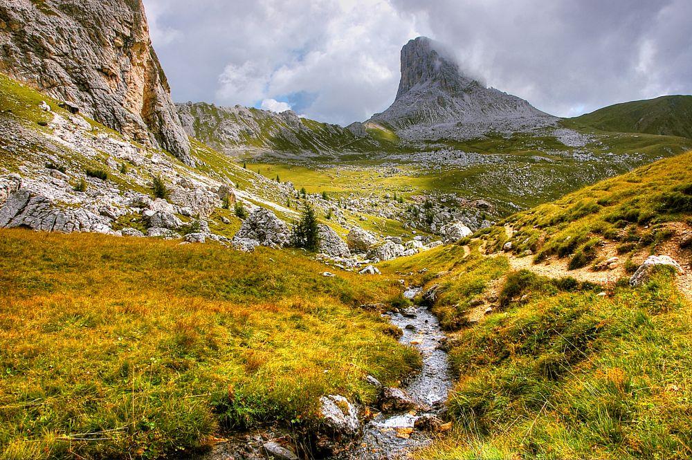 Photo in Landscape #berge #fluß #alpen #dolomiten