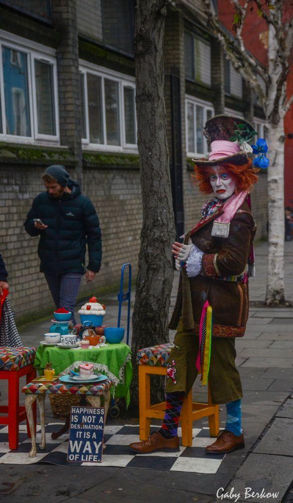 El payaso del Notting Hill