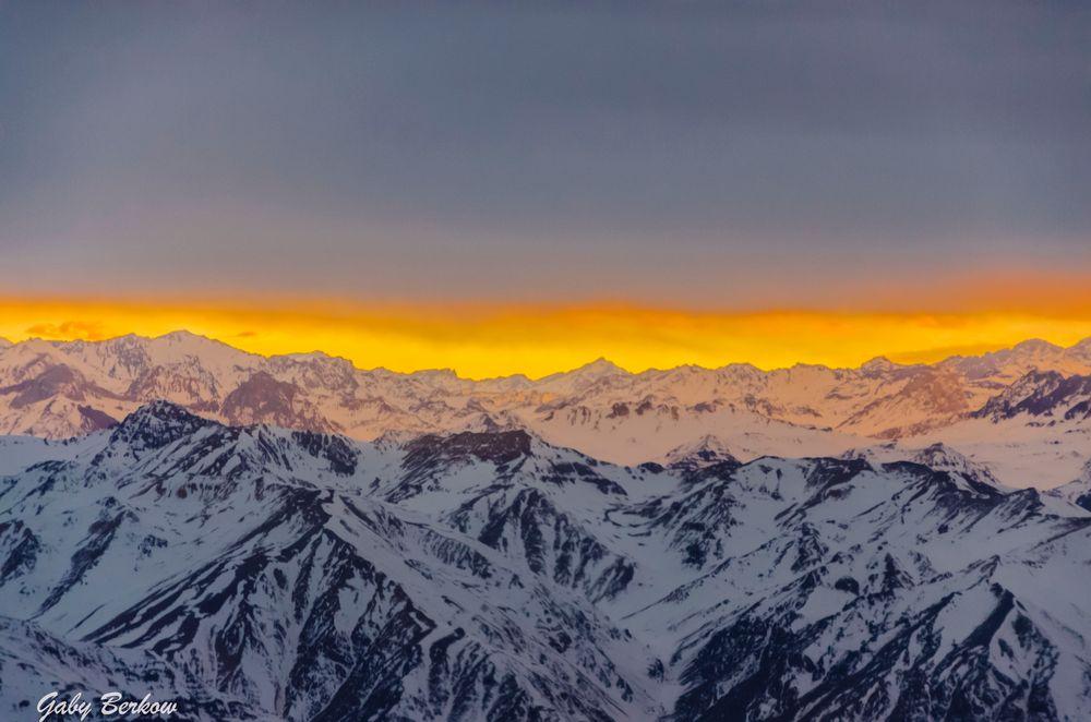 Vista Cordillera de los Andes
