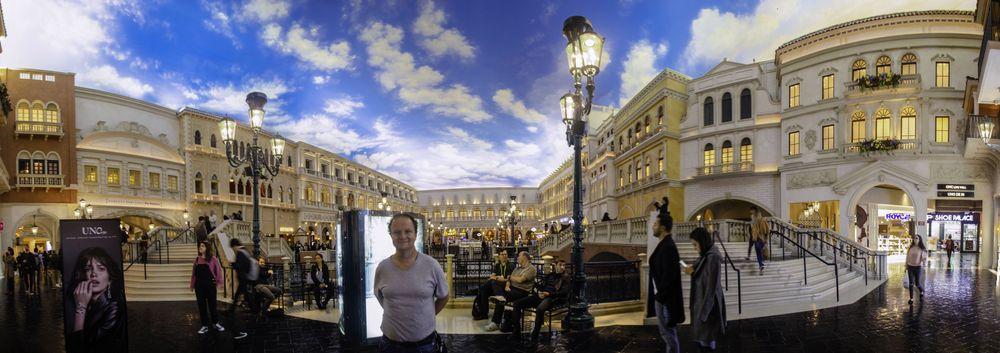 Panorámica Hotel Venecia, Las vegas