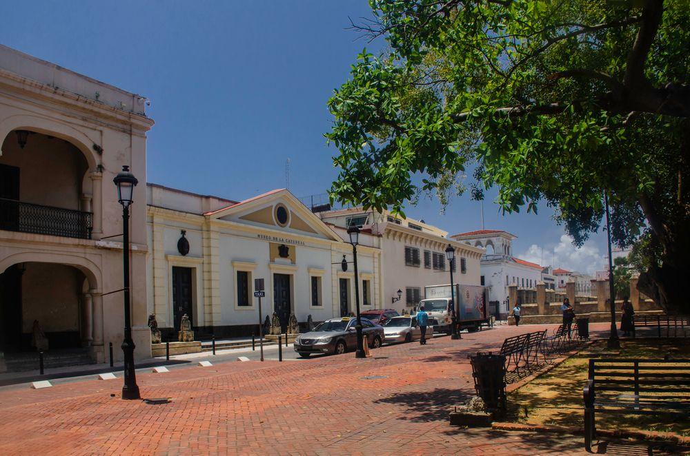 Parte colonial de Santo Domingo