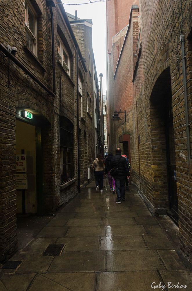 Calle angosta de Londres...