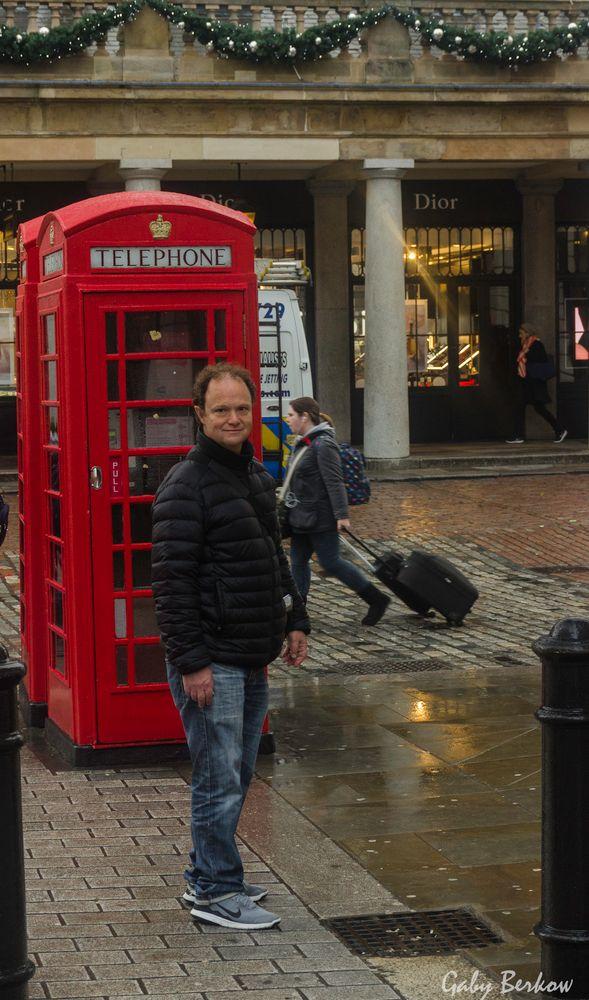 Teléfono publico Londres