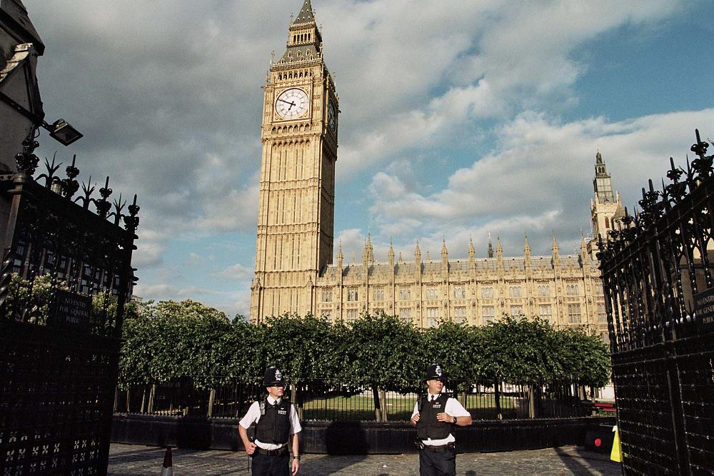 Photo in Street Photography #london #big ben #street photography #cop
