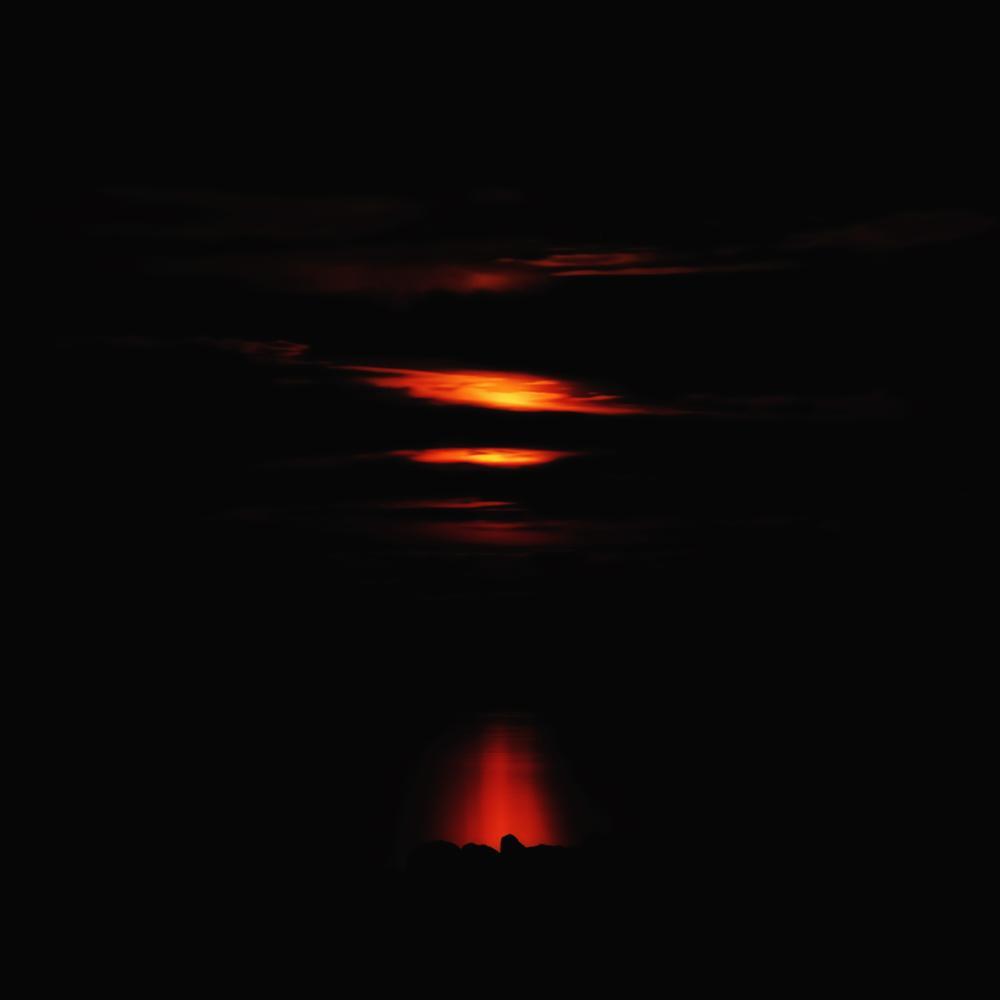 Photo in Fine Art #sunset #seascape #after sunset #scanarello #polesine #mimimalism #night #long exposure