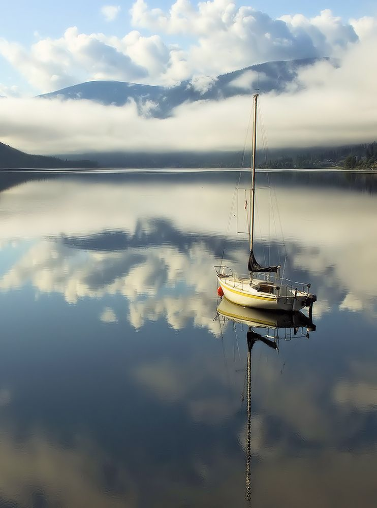 Photo in Nature #water #lake #boat