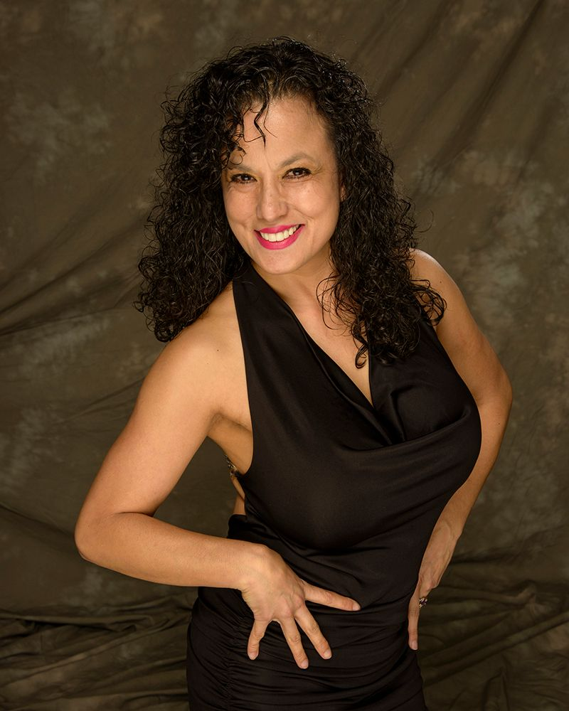 Photo in Portrait #model #lady #woman #pretty #beautiful #portrait #black dress #black