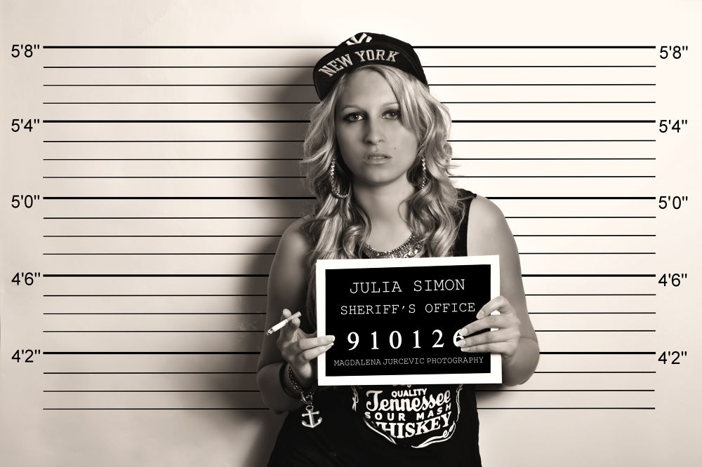 Photo in Portrait #woman #jail #prison #bad girl