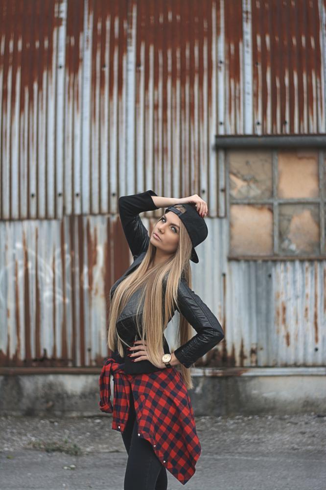 Photo in Portrait #girl #woman #swag #fashion