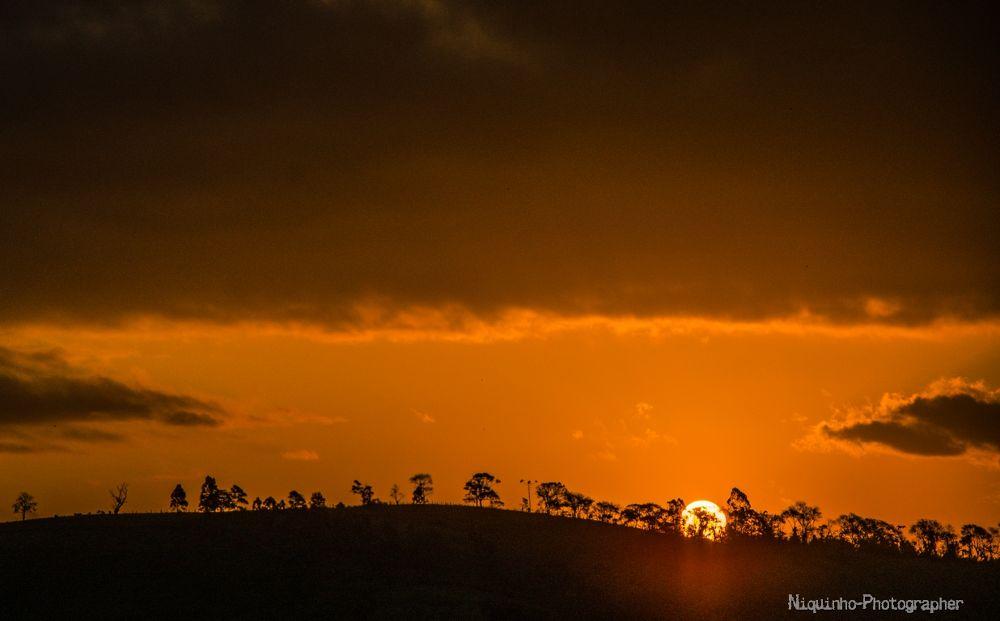 Photo in Nature #pôr do sol