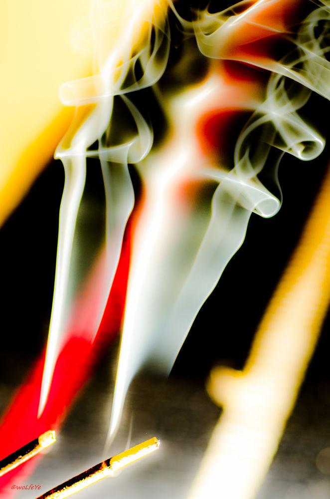 Photo in Abstract #white sage #sage #smoke #ritual #clensing