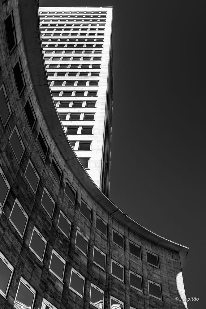 Photo in Black and White #brussels #black & white #reflections