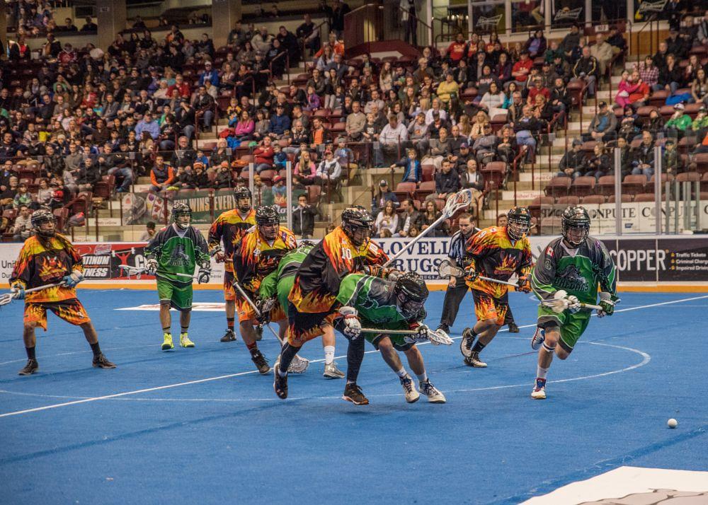 Photo in Sports #lax #lacrosse #turfdogs #gm centre #oshawa