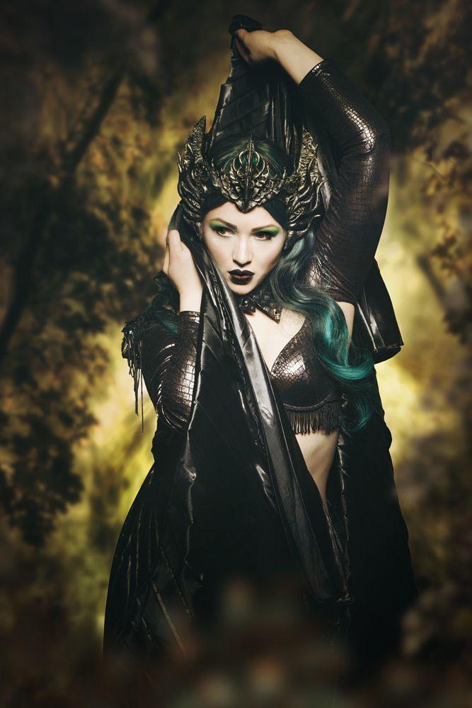 Photo in Fine Art #beauty #portrait #model #fantasy #surreal #fineart #creative #make-up