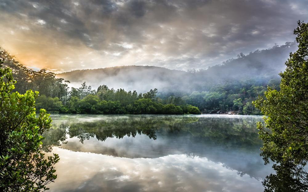 Photo in Landscape #landscape #nature #forest #mountain