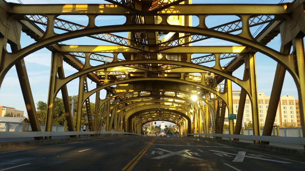 Photo in Street Photography #california #bridge #structure #sacramento #street contest #streetcontest
