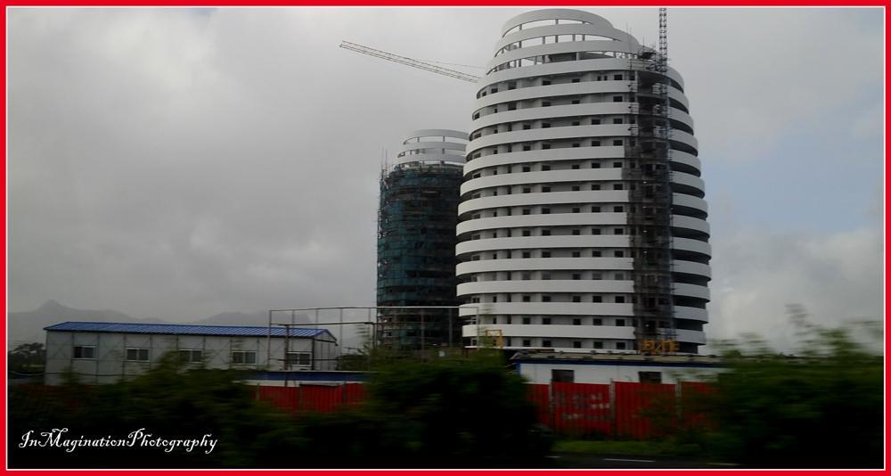 Photo in Random #maritius #portlouis #building #new #evening #rainy