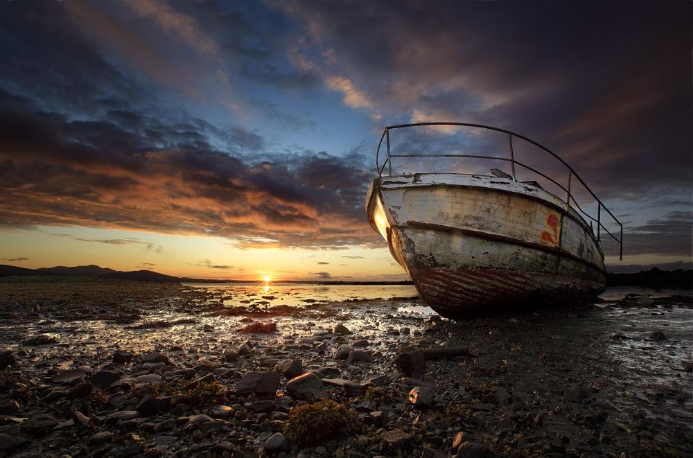 Photo in Landscape #carlingford #ireland #boat #sunrise