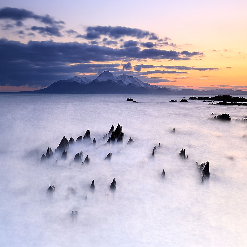 Photo in Landscape #st. john's point #northem ireland #colors #lee filters #long exposure #mountains #snow #sunset