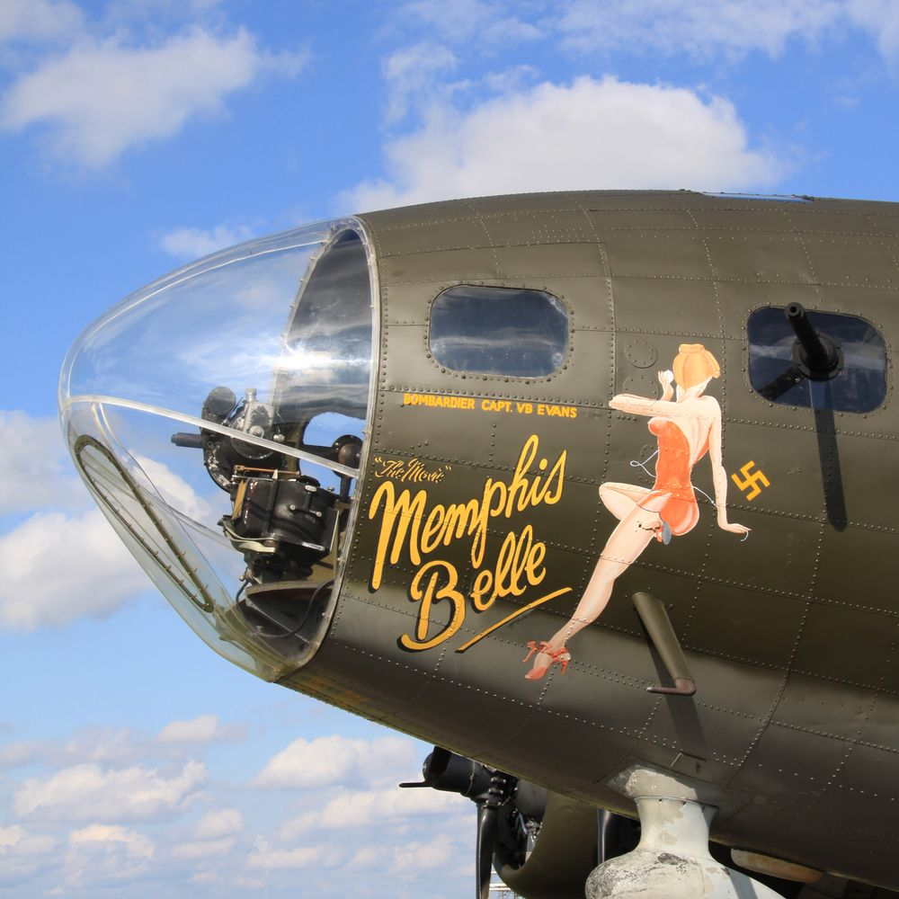Photo in Vintage #bomber #b17 #plane #wwii
