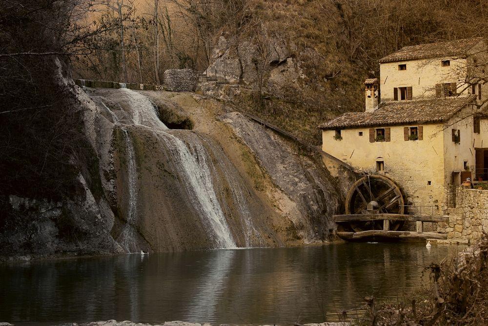 Photo in Nature #acqua #mulino #autunno