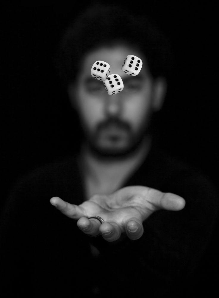 Photo in Portrait #portrait #black&white #luck