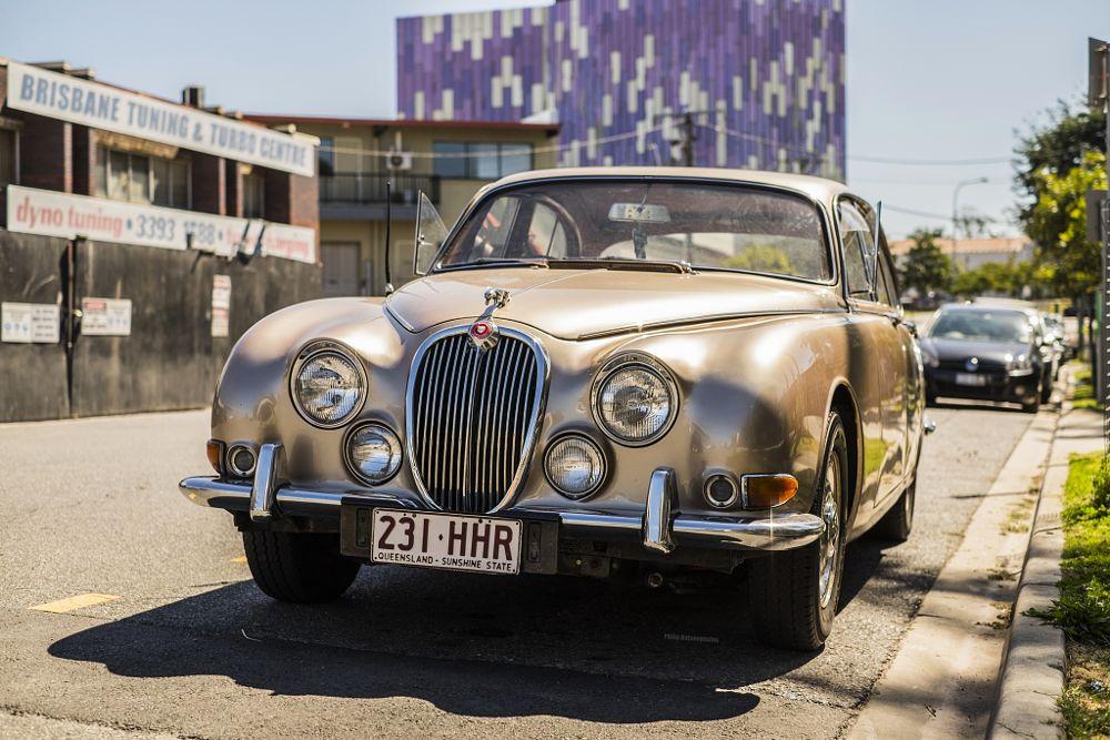 Photo in Vehicle #car #voiture #jaguar #fujifilm