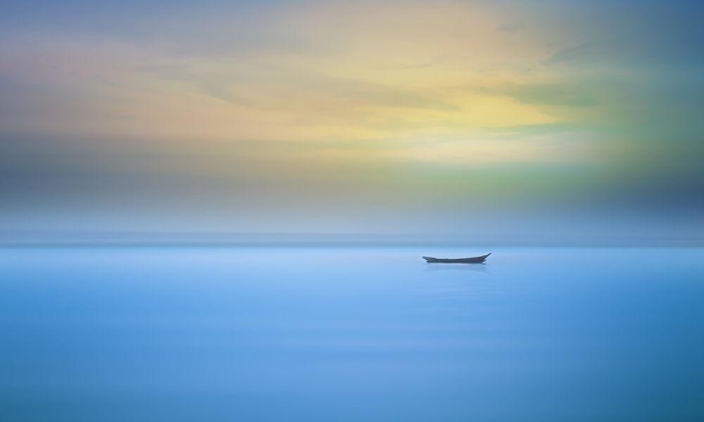 Photo in Fine Art #landscape #nature #water #sea #ocean #boat