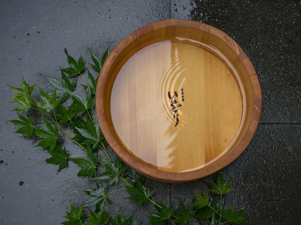 Photo in Still Life #hinoki #oke #bucket #japanese #bath #onsen #wabi #woodworker